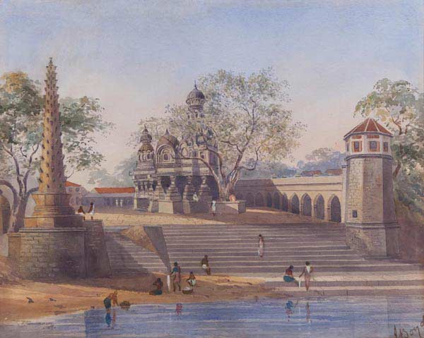 Temples and Bathing Reservoir at Chonk, Julius Middleton Boyd